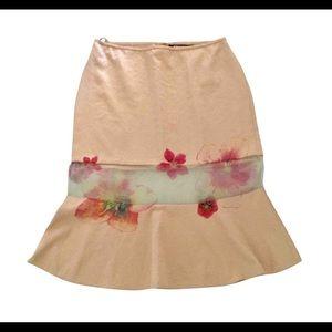 Jaw dropping silk DKNY skirt